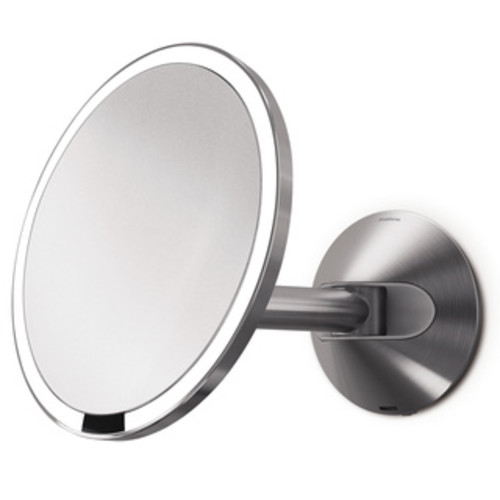 simplehuman Stainless Steel Wall-mount Sensor Mirror