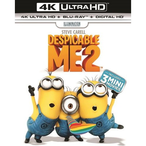 Despicable Me 2 [Includes Digital Copy] [UltraViolet] [4K Ultra HD Blu-ray] [2 Discs] [2013]