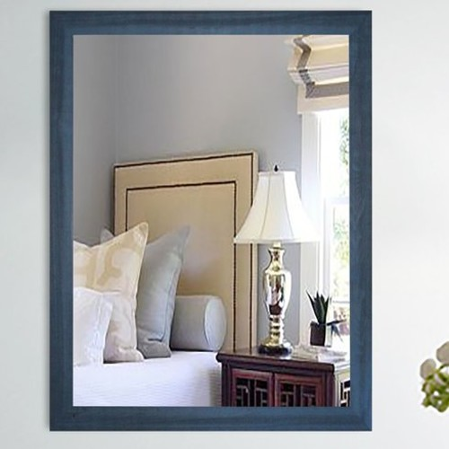 Framed Rectangle Wall Mirror
