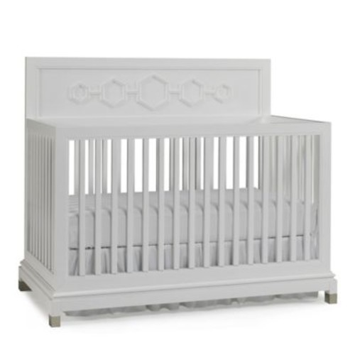 Jonathan Adler Crafted by Fisher-Price Convertible Crib in White
