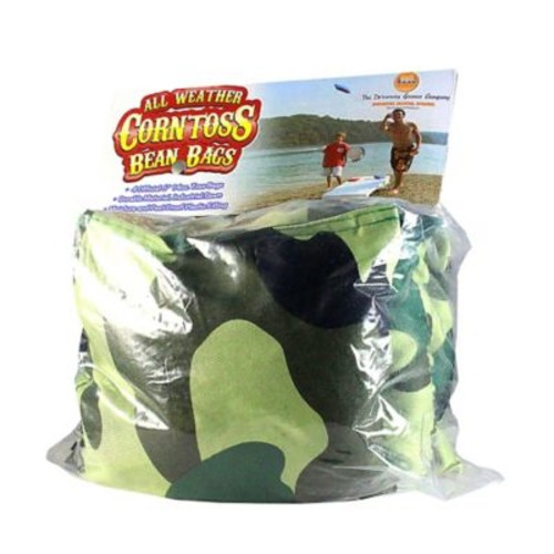 Driveway Games Company Corn Toss Bean Bag; Camo Orange