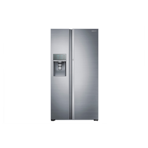 Samsung 21.5 Cu. Ft. Side-by-Side Refrigerator - Stainless Steel