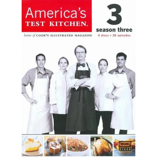 America's Test Kitchen: The Complete 3rd Season [4 Discs] [DVD]