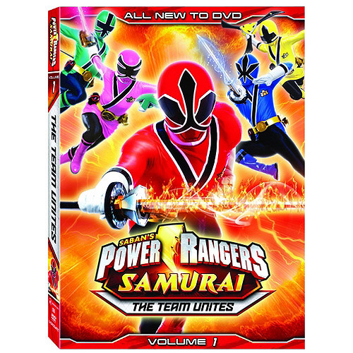 Power Rangers Samurai, Vol. 1: The Team Unites [DVD]