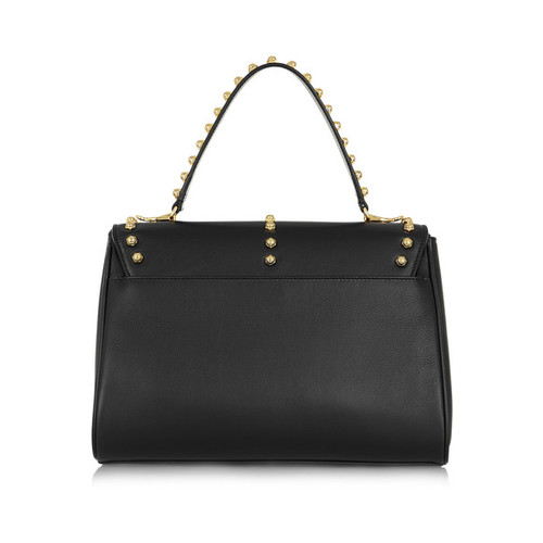 Scottie small studded leather shoulder bag