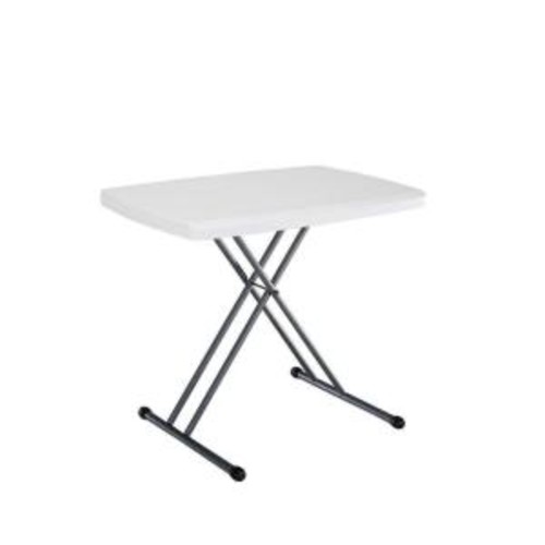 Lifetime 30 in. x 20 in. Personal White Folding Table