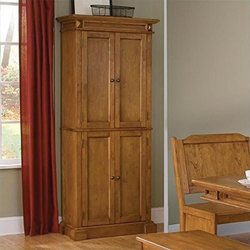 Home Styles 5004-69 Americana Pantry Storage Cabinet, Distressed Oak Finish [Distressed Oak, 30
