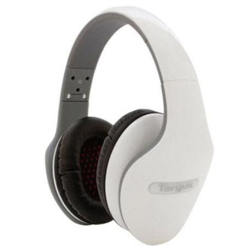 Targus Comfort Cushion Headphones, White TA-15HP-WHT