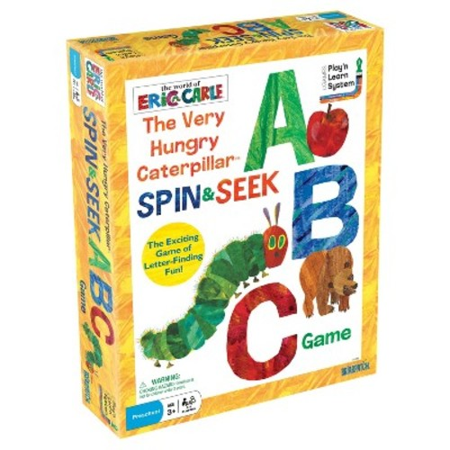 The Very Hungry Caterpillar Spin & Seek ABC Game by Briarpatch