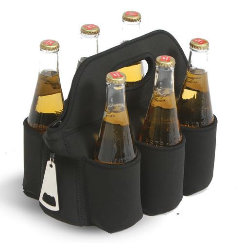 6 Can Neoprene Cooler Beverage Sleeve