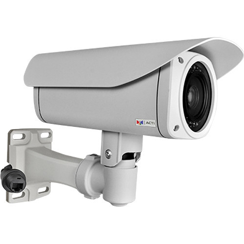 I47 4MP Weatherproof Day/Night IR PTZ IP Outdoor Bullet Camera with PoE, Heater, and 4.3 to 129mm Lens