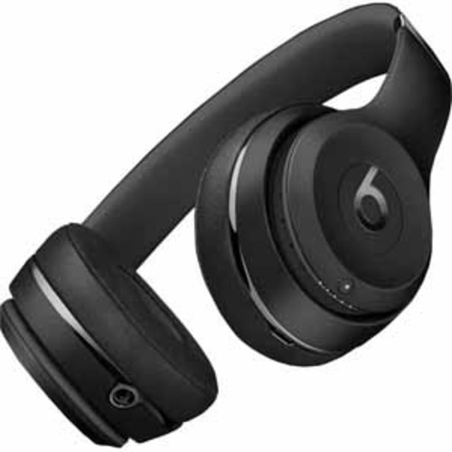 Beats Solo3 Bluetooth On-Ear Headphones with Mic Control - Black