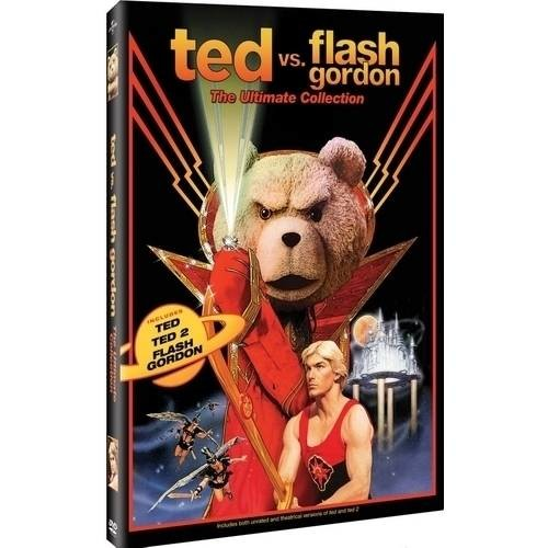 Ted vs. Flash Gordon: The Ultimate Collection [3 Discs] [DVD]
