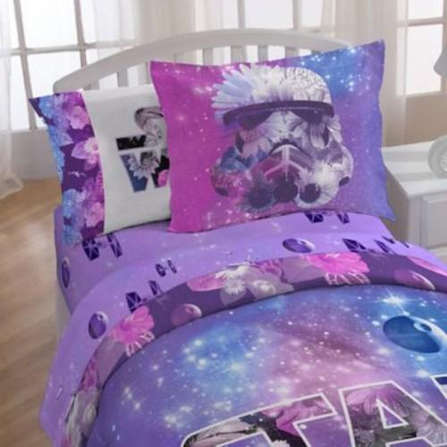 Star Wars Galaxy Queen Sheet Set