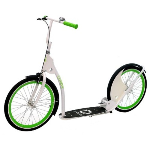 Current Coaster Kick Bike Scooter - Electric Green