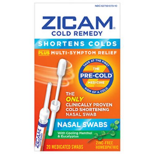 Zicam Cold Remedy Nasal Swabs, 20 CT