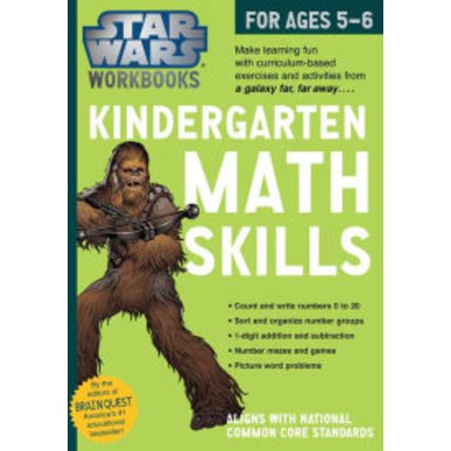 Star Wars Workbook: Kindergarten Math!