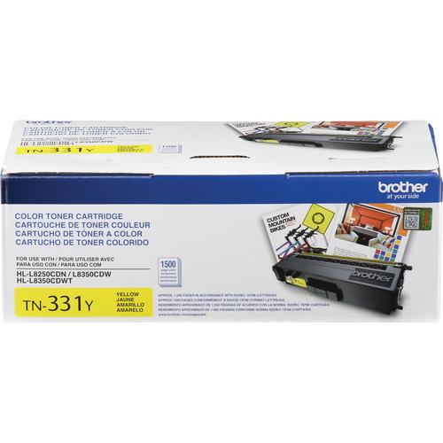 TN331Y Standard Yield Yellow Toner Cartridge