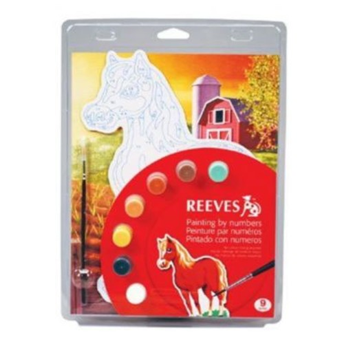 ColArt Color & Shape Painting by Number Horse Set (ALV29381)
