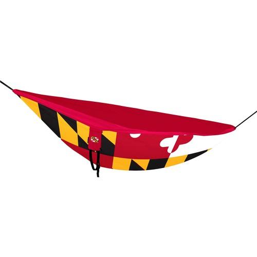 Logo State of Maryland Flag Hammock
