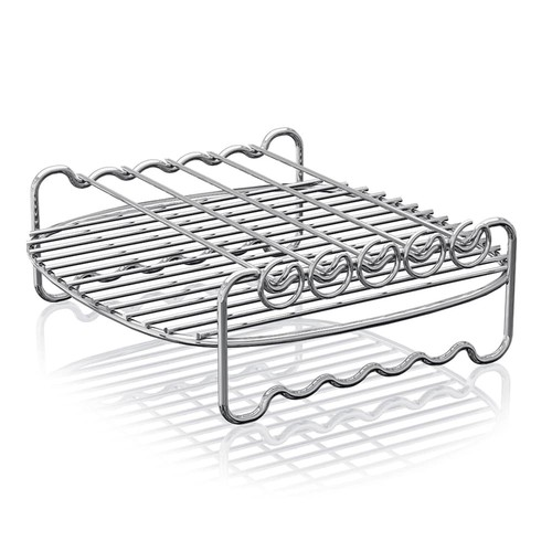 Philips Air Fryer Double Layer Rack with Skewers As Seen on TV