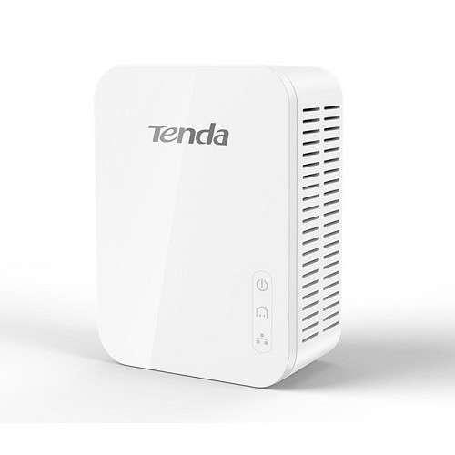 Tenda Technology AV1000 Gigabit Powerline Adapter Kit - 1000Mbps, Up to 1000 Feet Transmission, HomePlug AV2, Gigabit Ethernet - PH3