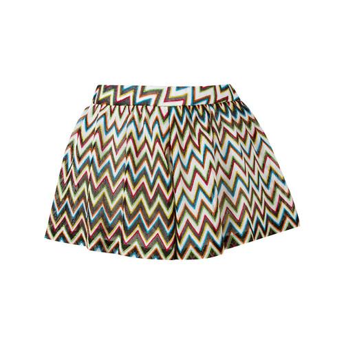 MISSONI Zig Zag Pleated Shorts