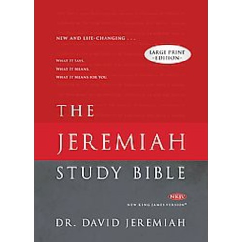 The Jeremiah Study Bible: New King James Version (Hardcover)