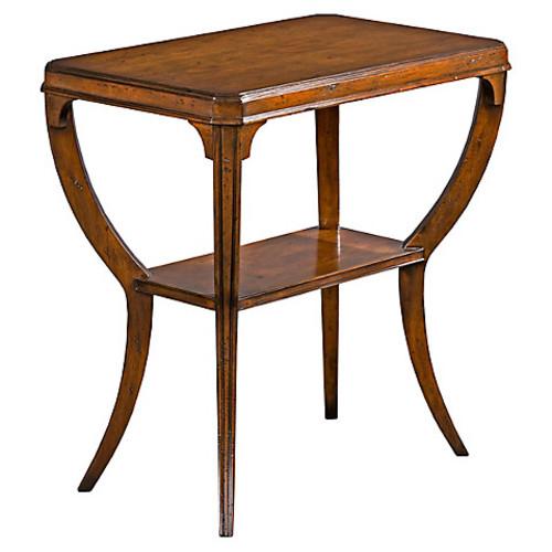 Keene Side Table, Chestnut