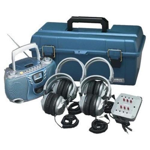 Val - U - Pack CD Listening Center Number of Headphones: Six