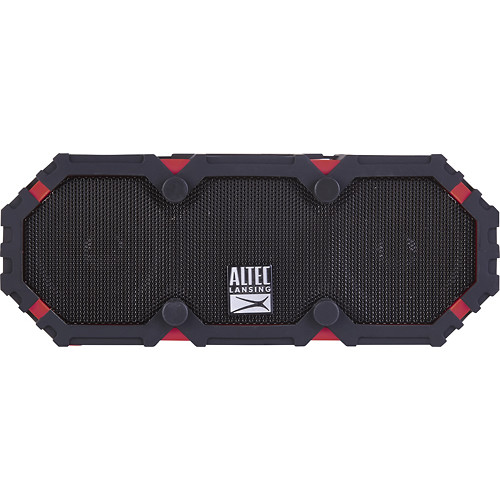 Altec Lansing - Mini Life Jacket 3 Portable Wireless and Bluetooth Speaker - Deep red