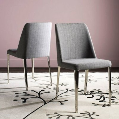 Safavieh Baltic Linen Side Chairs (Set of 2)