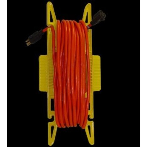 Wiremold Cord Holder Classic Holds Up To 150 ' Yellow
