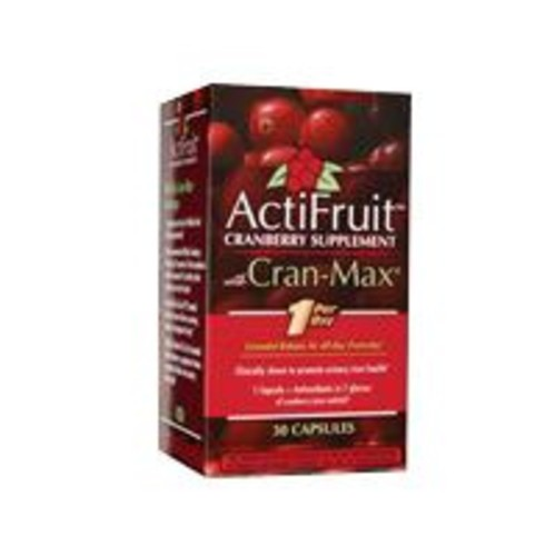 ActiFruit With Cran-Max (20 Soft Chews) Enzymatic Therapy Inc. 1 Bag