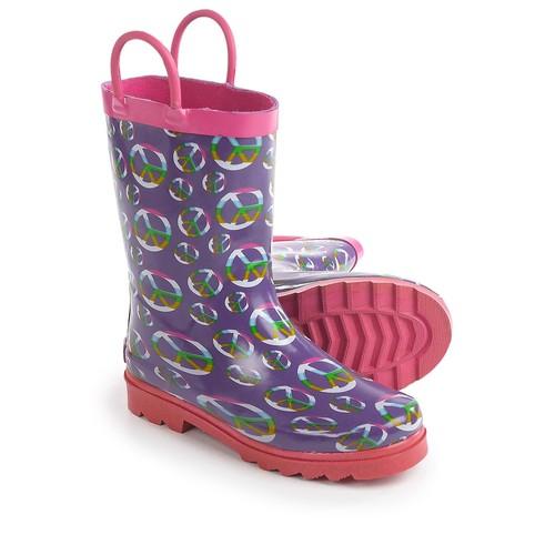 Splashers Peace Rain Boots - Waterproof (For Toddler Girls)