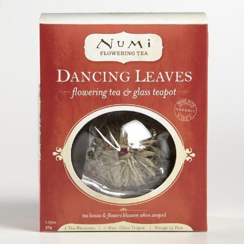 Numi Glass Teapot and Flowering Tea