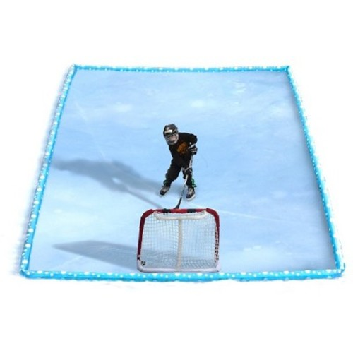 Rave Sports Inflatable Ice Rink Kit - Blue