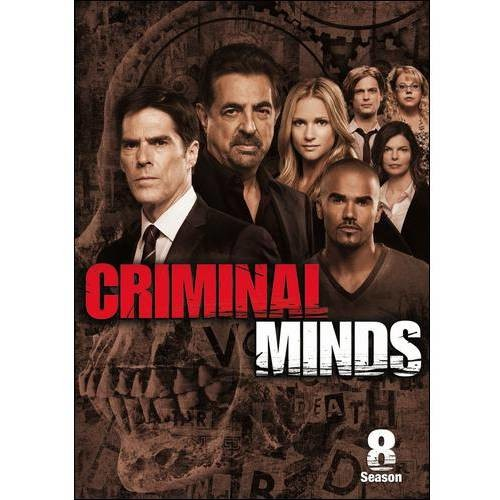 Criminal Minds: The Eighth Season [6 Discs] [DVD]