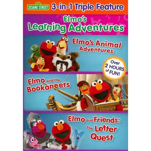 Sesame Street: Elmo's Learning Adventures [DVD]