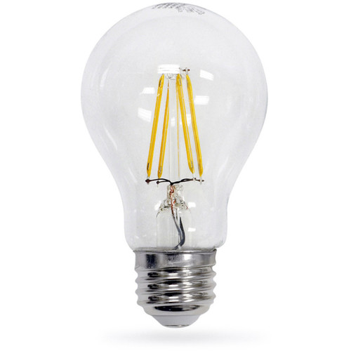 Artiva USA LED Filament Light Bulb 2700K Warm Light True 360-degree Beam Angle (Set of 6)