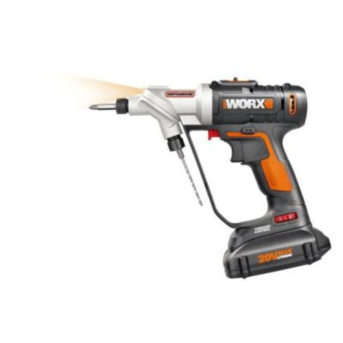 Worx 20-Volt Lithium-Ion 1/4 in. Cordless Drill/Driver