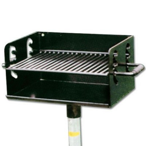 Pedestal Charcoal Grill - 300 sq. in. Grill Area