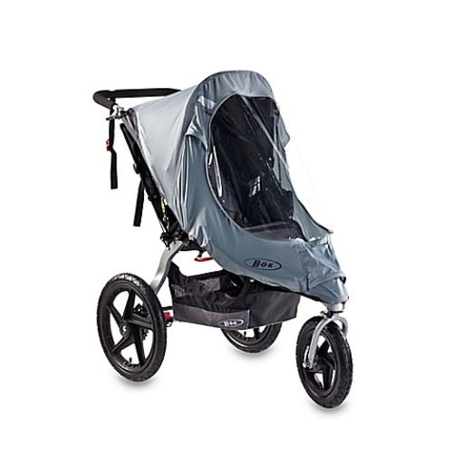 BOB Duallie Stroller Swivel Wheel Weather Shield