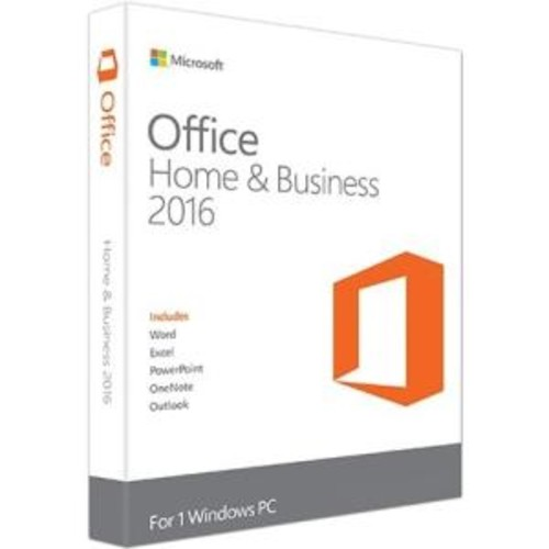 Microsoft Office 2016 Home & Business - Box Pack - 1 License- Mac