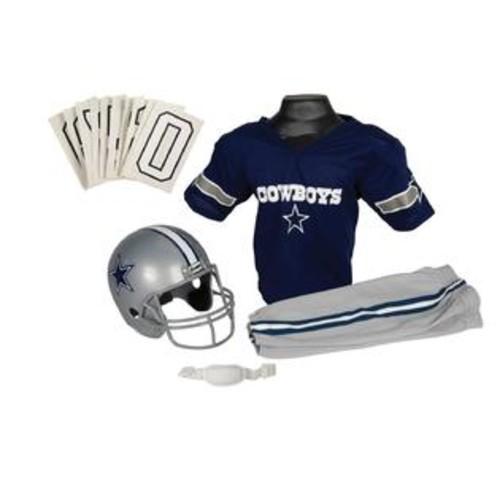 Franklin Sports 15700F03P1Z NFL COWBOYS Small Uniform Set