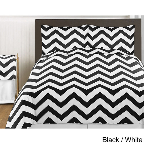Sweet Jojo Designs Chevron 4-piece Zig Zag Twin-size Bedding Collection