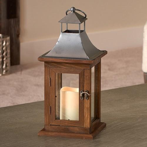Smart Living Portland 14-in. LED Candle Lantern