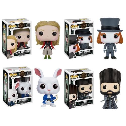 Funko POP! Alice: Through The Looking Glass Disney Collectors Set