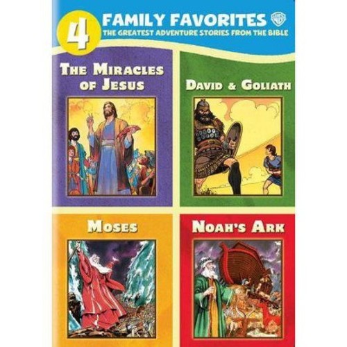 4 Family Favorites: Greatest Adventures of Bible [DVD]