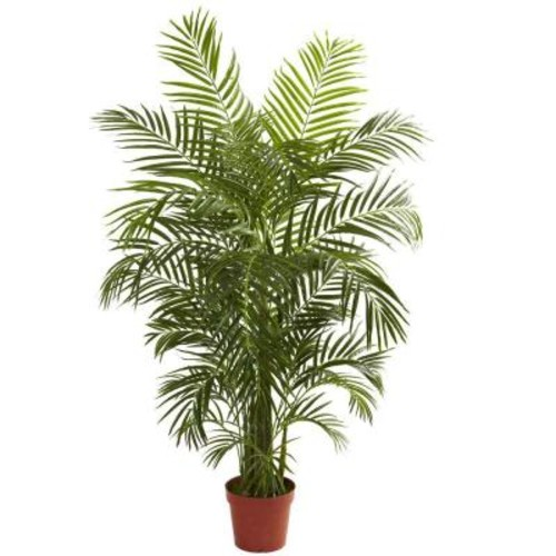 Nearly Natural 4.5 ft. UV Resistant Indoor/Outdoor Areca Palm